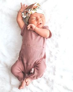 mauve baby outfit