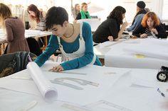 Estudiante de Grado en Diseño de Moda. Curso 12-13 by ESNE Escuela Universitaria de Diseño e Innovación