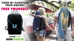 Unitty Backpacks - First Ever Strapless Skateboard Backpack project video thumbnail