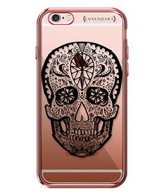 Look at this #zulilyfind! Rose Gold Mexican Skull Case for iPhone 6/6s Plus by Luxendary #zulilyfinds