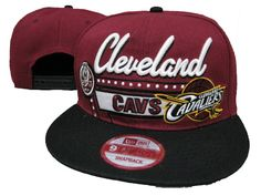 NBA Cleveland Cavaliers Snapback Hats Caps Red New Era 2411|only US$8.90