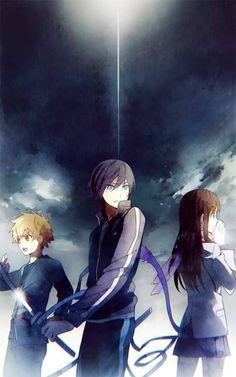 Yukine, Yato, Hiyori | Noragami