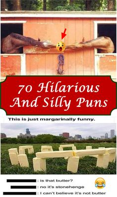 #70 #hilarious and #silly #puns #funny Very Clever, Stonehenge, Puns, Weird, Hilarious, Humor, Amazing, Clean Puns, Humour