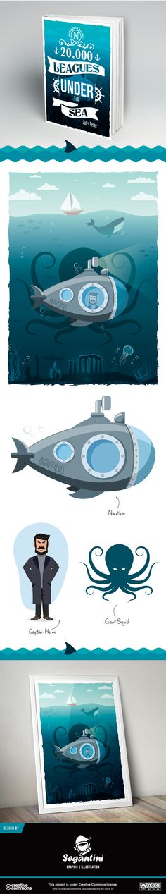 20.000 Leagues Under the Sea - Illustration on Behance