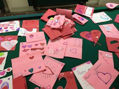 Valentines for a senior center made by my GS troops... Completed for brownie quest and agent of change journeys...