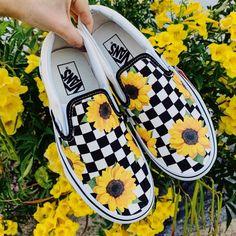 21 Best Sunflower vans!! images   Sunflower vans, Cute shoes
