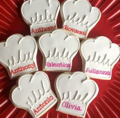 Chef's Hat cookies