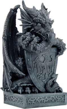 Dragon with Eagle Shield