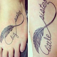 32 Inspiring Sister Tattoo Design Ideas