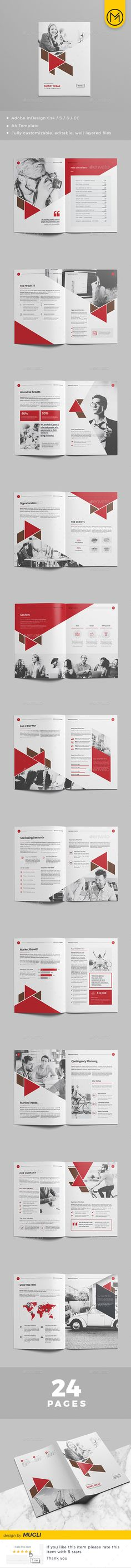 Brochure Design — InDesign INDD #clean proposal #proposal web • Download ➝ https://graphicriver.net/item/brochure-design/21203614?ref=pxcr