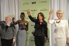 June Squibb, Lupita Nyong'o Cathy Schulman & Helen Mirren