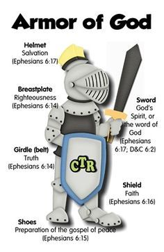 Crafty image intended for armor of god printable