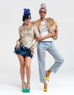 """Paper Magazine's 2011 """"Styled Like Me"""" shoot with June Ambrose"""