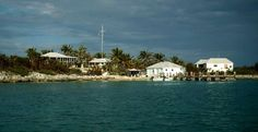 Caribbean Marine Research Center on Lee Stocking Island, Bahamas