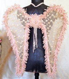 Hey, I found this really awesome Etsy listing at https://www.etsy.com/listing/255431594/shabby-pink-angel-wings