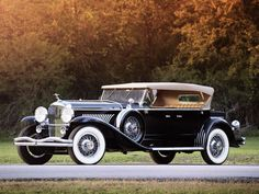 Vintage Cars 1931 Duesenberg Model J Derham Tourster. Retro Cars, Vintage Cars, Antique Cars, American Classic Cars, Old Classic Cars, Ferrari, Maserati, Duesenberg Car, 1959 Cadillac