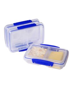 Love this 11.8-Oz. Split Container - Set of Three by Sistema on #zulily! #zulilyfinds