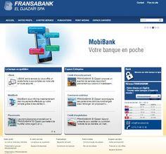 Le nouveau site web de Fransabank el Djazair