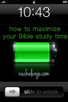 How to Make the Most of Your Bible Study Time- 4 tips I've found that work!