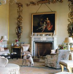 Adam-style mantle piece, georgian elegance & a pair of obelisks. English Interior, Antique Interior, English Country Decor, Country Style, Beautiful Interiors, French Interiors, House Interiors, Interior Decorating, Interior Design