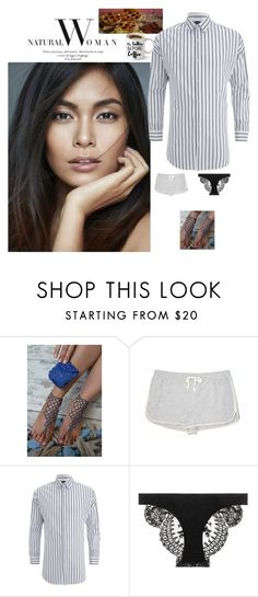 """""""Breakfast on the deck, always sexy!"""" by denibrad ❤ liked on Polyvore featuring Lou & Grey, Scotch & Soda and La Perla"""