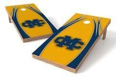 Mississippi College Choctaws Single Cornhole Board - The Edge