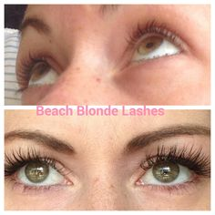 Before and after adding animal cruetly free lash extensions!