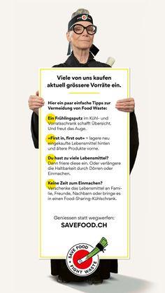 Geniessen statt wegwerfen: savefood.ch Movie Posters, Food, Shopping, Foods, Tips, Film Poster, Meals, Film Posters
