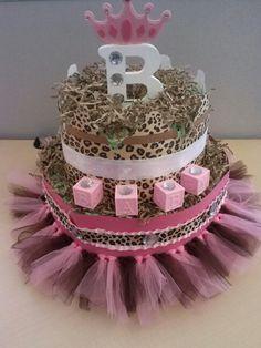 Diaper cake!