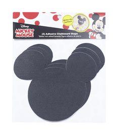 Disney Mickey Mouse Ears Adhesive Chalkboard LargeDisney Mickey Mouse Ears Adhesive Chalkboard Large,