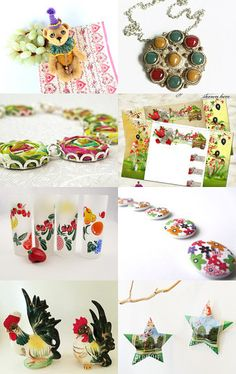 The Colorful Summer by NicolaStar on Etsy--Pinned with TreasuryPin.com