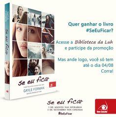 Nova Promoção na Biblioteca da Luh!!! Confiram! #SeEuFicar #BibliotecadaLuh #NovoConceito