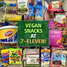 Didn't know that 7-Eleven is a vegan mecca?! Look at all the delish vegan finds at the popular corner store!
