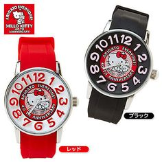 cffa88dbd New Hello Kitty x AMONLISA Wrist Watch 40th Anniversary Red SANRIO JAPAN  Hello Kitty Jewelry,