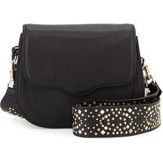 Rebecca Minkoff Sydney Saddle Bag with Guitar Strap as seen on Victoria Justice