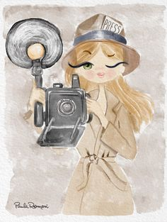 Press girl - Paula