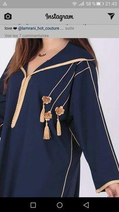 galabia Mode Abaya, Mode Hijab, Muslimah Wedding Dress, Girl Fashion, Womens Fashion, Fashion Design, Moroccan Dress, Caftan Dress, Abaya Fashion