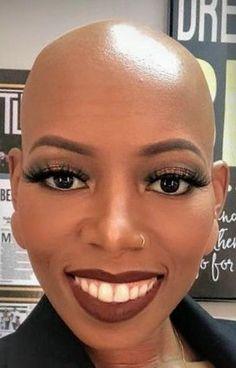 43 Hair ideas | bald girl, bald women, bald hair