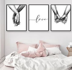 decor living room pictures Nordic Poster Black And White Holding Hands Picture Canvas Prints Lover Quote Painting Wall Art For Living Room Minimalist Decor Holding Hands Pictures, Hand Pictures, Canvas Pictures, Hand Images, Abstract Pictures, Room Wall Decor, Bedroom Decor, Canvas Wall Decor, Bedroom Ideas