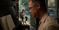 We posted the first Brad Pitt-less clip last week, but the latest clip from Terrence Malick's The Tree of Life features the actor in full Fight Club mode. Movie Shots, I Movie, Movie Scene, School Reviews, 120 Film, Film Studies, Film School, Music Film, Fight Club