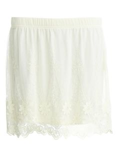 Feminine, lace Skirt with Lace #Vilaclothes #Vila #Lace