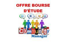 OFFRE de 600 BOURSES D'ÉTUDE en COMMUNITY MANAGER(Filiére de l'avenir) au CEFAS
