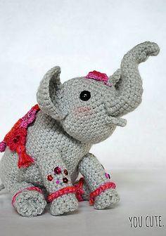 amigurumi-elephant