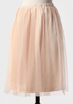 at Ruche // pink tulle skirt