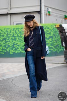 long trench and flares