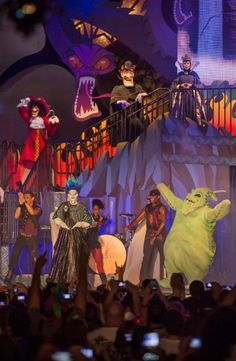 More than 50 Disney villains are set to rule Disney's Hollywood Studios on August as a part of the new Villains Unleashed event. Villains Unleashed, which is a one-night event that requires a separate party ticket, will feature appearances by Disney Villains, Disney Pixar, Disney Characters, Disney Nerd, Face Characters, Disney Tips, Disney Princesses, Disney Love, Disney Magic