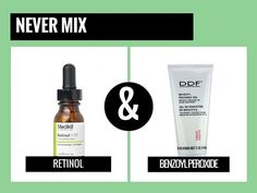 <img> never mix retinol with vitamin c so no skin brightening VC serum with retinol in same week. Alternate & use both two-three times a week & not too close to eye - Anti Aging Tips, Anti Aging Skin Care, Skin Care Regimen, Skin Care Tips, Skin Tips, Organic Skin Care, Natural Skin Care, Belleza Diy, Natural Hair Mask