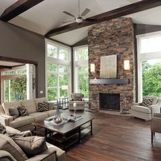 Living Room Two Story Windows Design, Pictures, Remodel, Decor and Ideas - page 8
