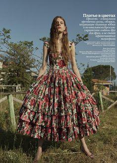 Vogue Ukraine July 2017 Kay Smetsers by Jesse Laitinen
