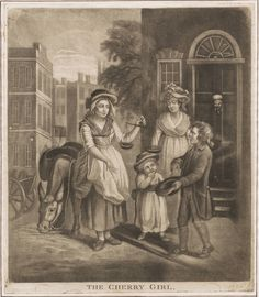1790 - The Cherry Girl - Lewis Walpole Library Digital Collection